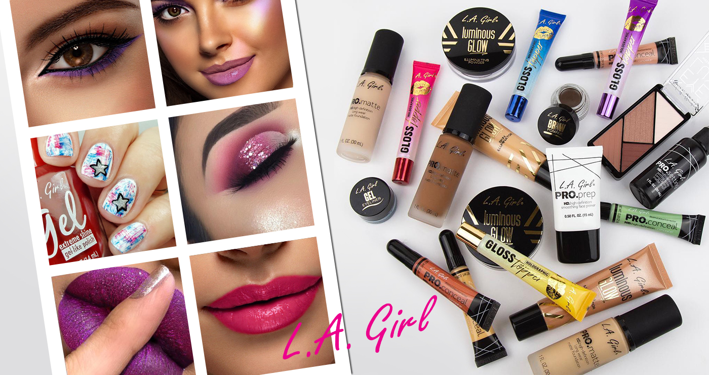 L.A Girl cosmetics products