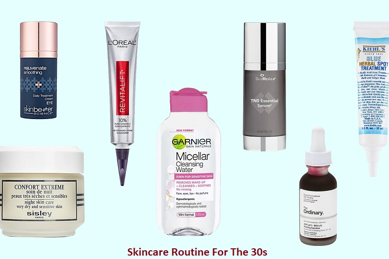 Skincare Routine For The 30s