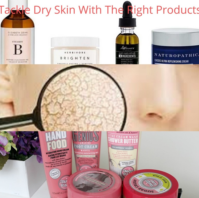 Tackle Dry Skin With The Right Products