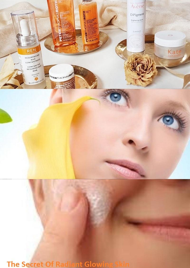 The Secret Of Radiant Glowing Skin